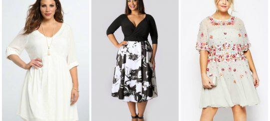 Как выбрать платье для полных дам